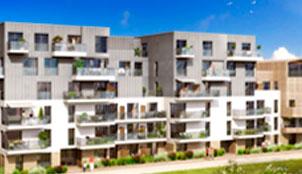 Programme de la résidence Luminence Garden situé à Annemasse en Rhône Alpes