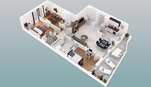 Appartements Lux - B11 - Lyon