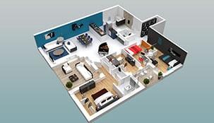 Appartements Lux - C23 - Lyon