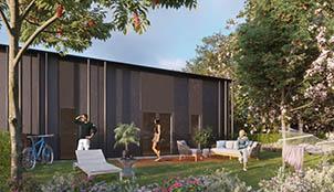 Programme de la résidence Wood Park situé à Pessac en Aquitaine