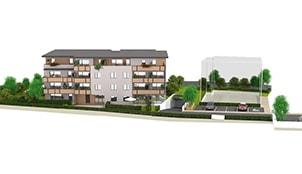 Programme de la résidence L'Albane situé à Saint Alban Leysse en Rhône Alpes