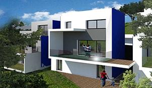 Programme de la résidence de la Dominante situé à Nice en Province Alpes côte d'azure