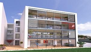Programme de la résidence Ego Aldea situé à Biarritz en Aquitaine