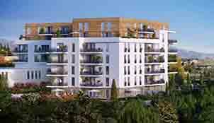 Le programme de la résidence Nouvelle Perspective situé à Marseille en Provence-Alpes-côte-d'Azur