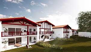 Programme de la résidence Bordagain Bizia situé à Ciboure en Aquitaine