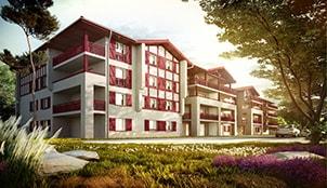 Le programme de la résidence Les Balcons d'Antsoenia située à Hasparren dans le Midi-Pyrénnées