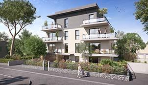 Programme de la résidence Villa Solana situé à Aix-En-Provence en Provence Alpes Côte d'Azur