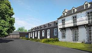 Programme de la résidence Les Lofts de Moreac situé à Moréac en Bretagne