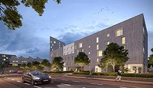 Programme de la résidence Helios Park situé à Rennes en Bretagne