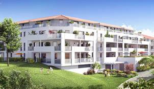 Perspective extérieure du programme Beha Luka situé à Bayonne