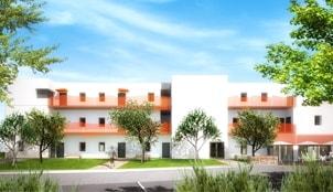 Perspective extérieure du programme Les Terrasses des Milleries situé à Messein