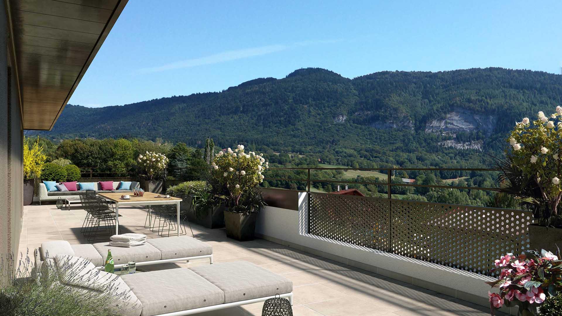 Terrasses Bellevue Programme Immobilier Neuf A Beaumont