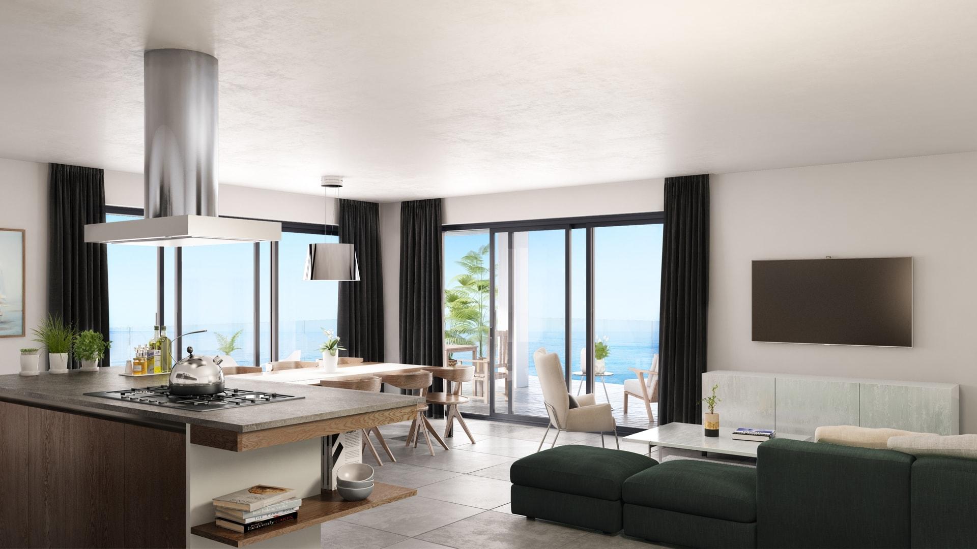 D Living De terracos de quarteira programme immobilier neuf à quarteira