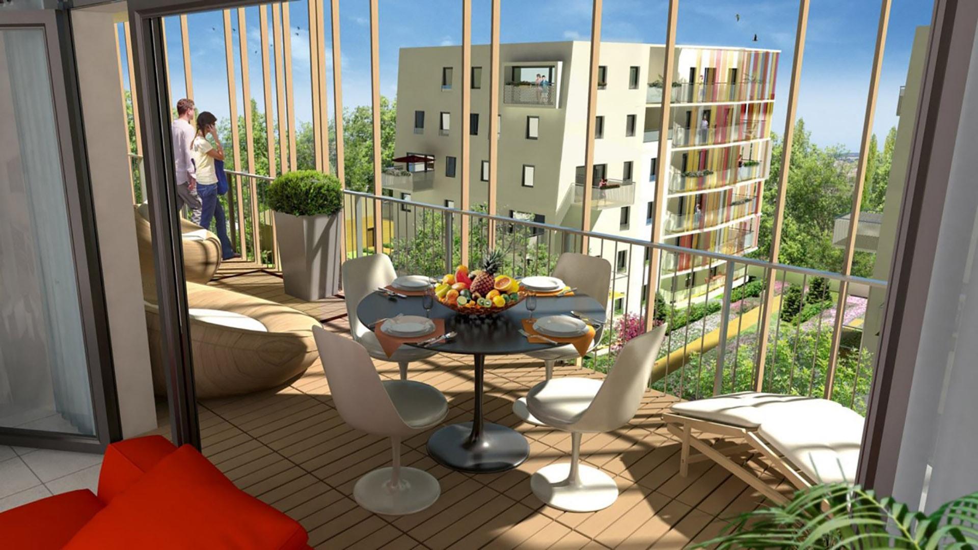 L le ´ Jardins programme immobilier neuf  Toulouse