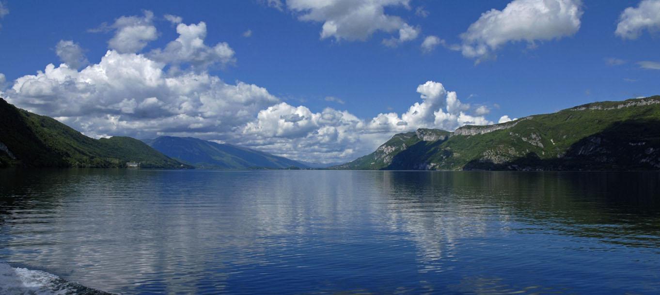 Page résidence vue sur le lac d'Aix-les-Bains
