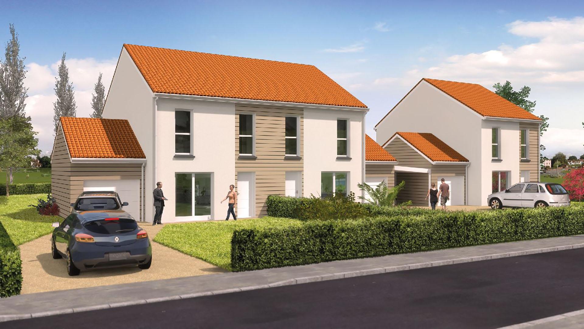 Les jardins du blosen programme immobilier neuf thann - Residence les jardins de l aqueduc montpellier ...