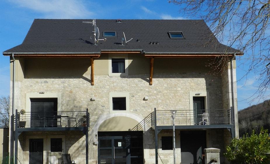 Vue générale du duplex 6 pièces du Cottage du Golf à Divonne-les-Bains