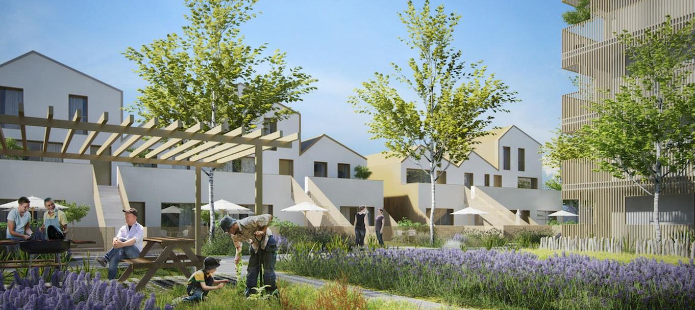 Résidence Village du parc située à Brétigny-sur-Orge en Île-de-France