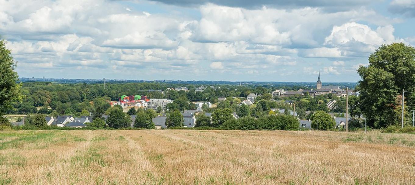 La résidence Habitat Terrasse Jardin situé à Orgères en Bretagne
