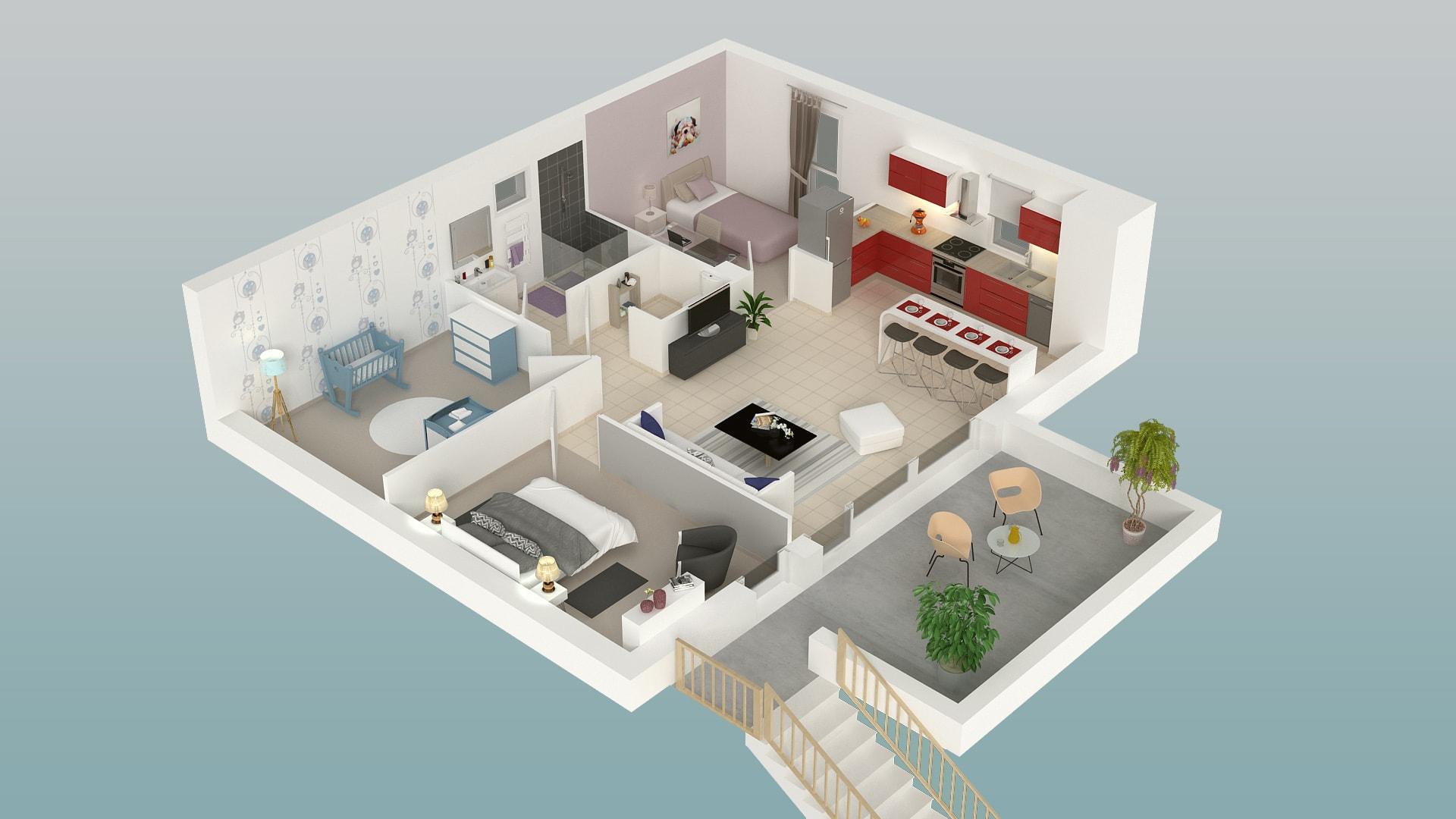 Habitat Terrasse Jardin, programme immobilier neuf à Orgères