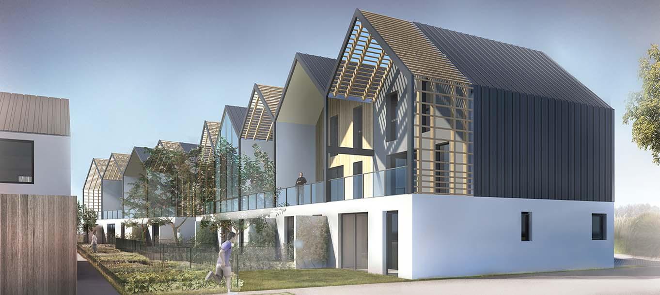La résidence les lofts d'Arradon situé à Arradon en Bretagne