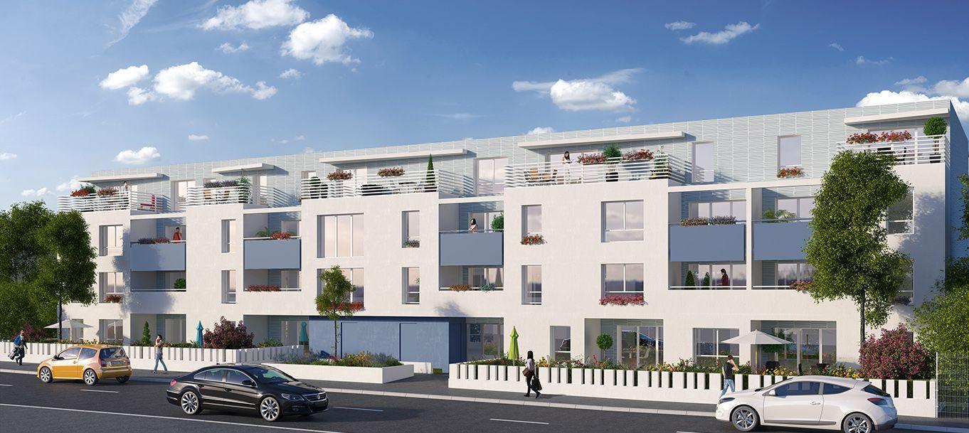 La résidence Beside city situé à villenave d'Ornon en Aquitaine