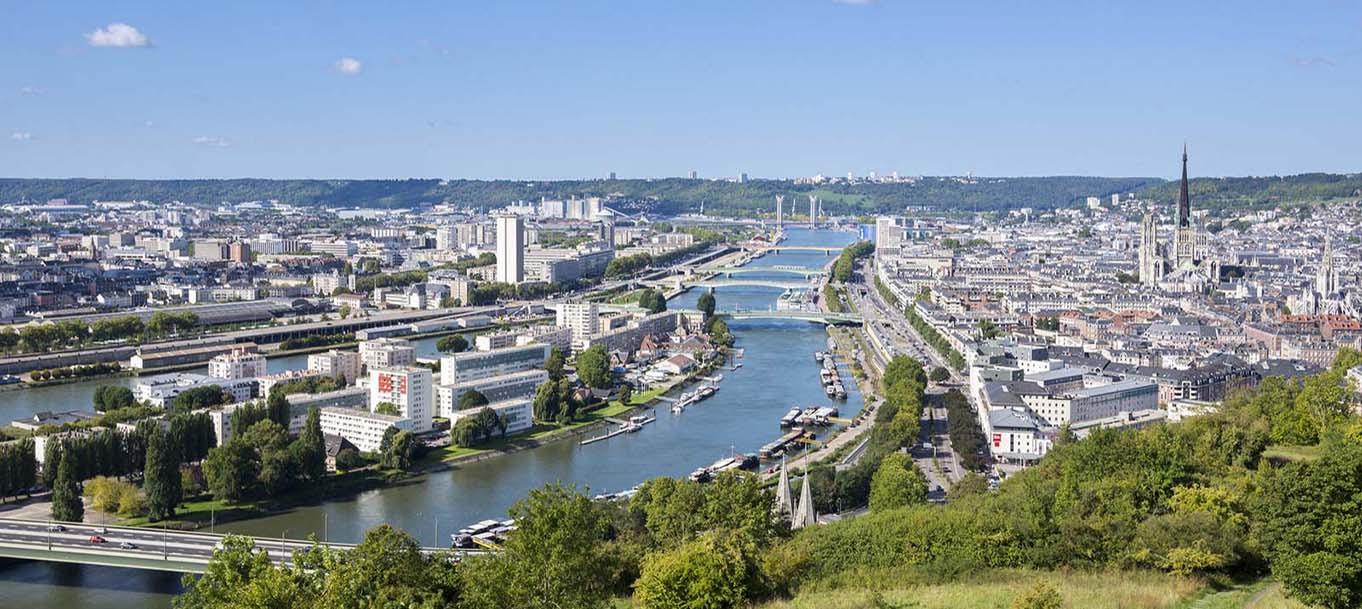 La résidence Docks en Seine située à Rouen en Haute Normandie