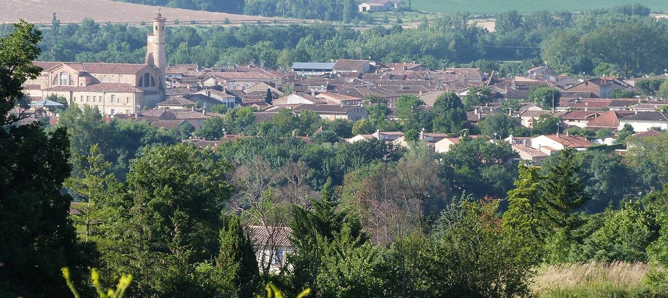 Vue de la résidence EHPAD des Alisiers à l'Isle-Jourdain