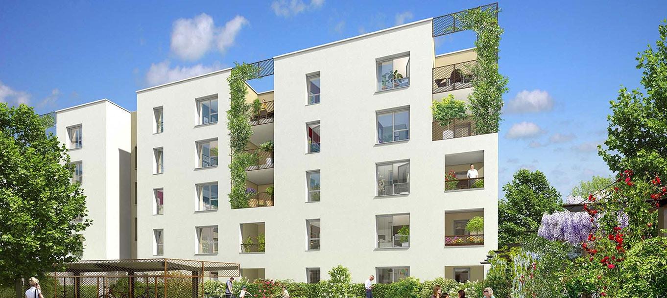 La résidence Green Attitude à Vaulx-en-Velin (Rhône)