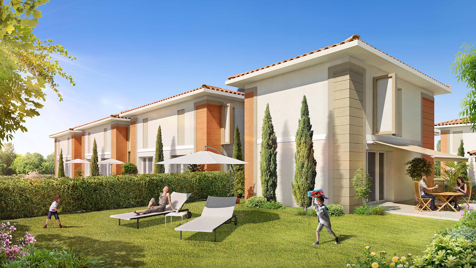 Le clos leyran programme immobilier neuf villenave d 39 ornon for Piscine clos d or grenoble