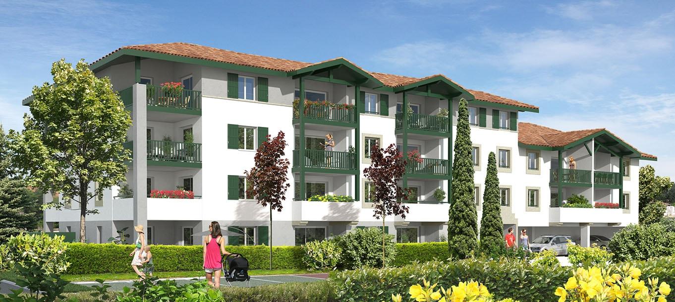 La résidence Résidence Herrian situé à Ustaritz en Aquitaine