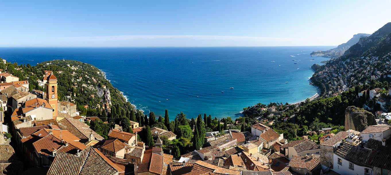 La résidence Blue Horizon situé à Roquebrune-Cap-Martin situé en Provence-Alpes-Côte d'azur
