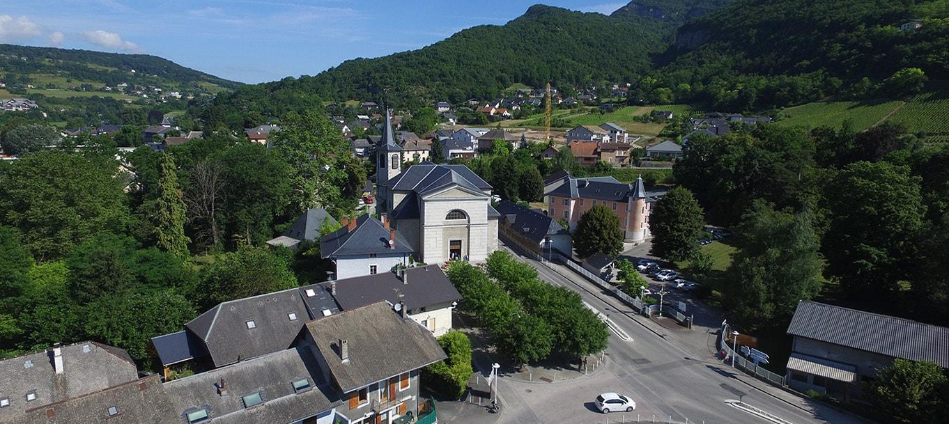 La résidence L'Albane situé à Saint Alban Leysse en Rhône Alpes