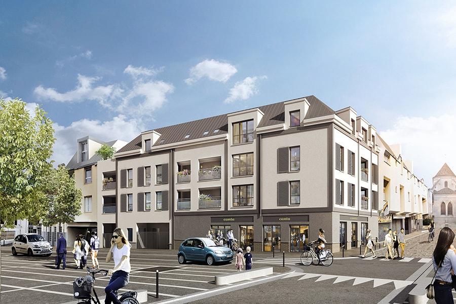 Vue générale de la résidence Affinity situé à Orly en Île de France