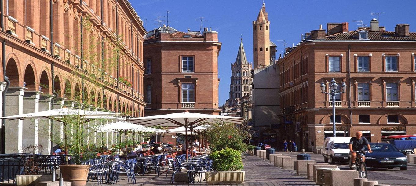 La résidence Les Jardins de Launac situé à Toulouse dans les Midi-Pyrénées