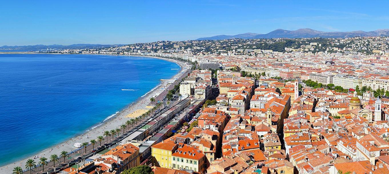 La résidence de la Dominante situé à Nice en Province Alpes côte d'azure