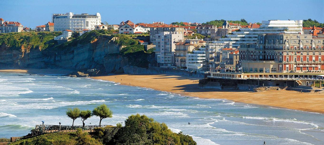 La résidence Ego Aldea situé à Biarritz en Aquitaine