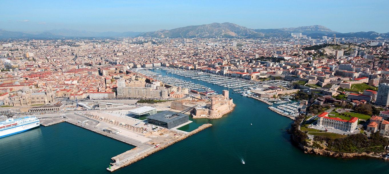 La résidence Nouvelle Perspective situé à Marseille en Provence-Alpes-côte-d'Azur