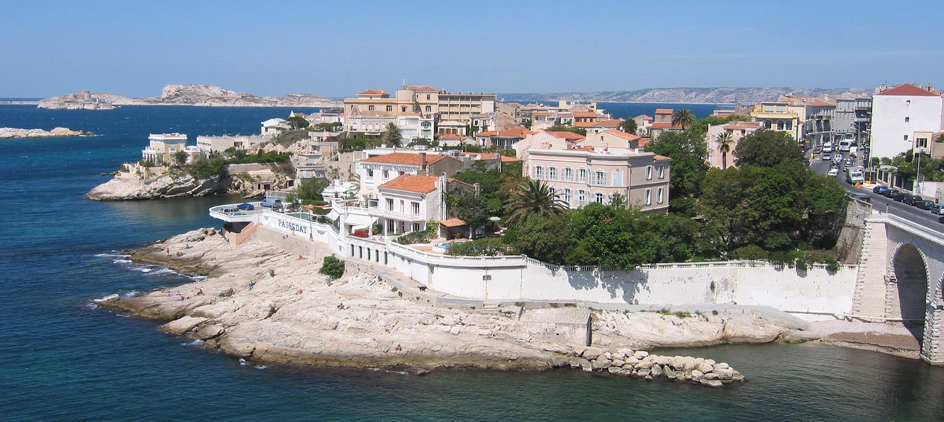 La résidence Sainte-Cécile situé à Marseille en Provence Alpes Côte d'Azur