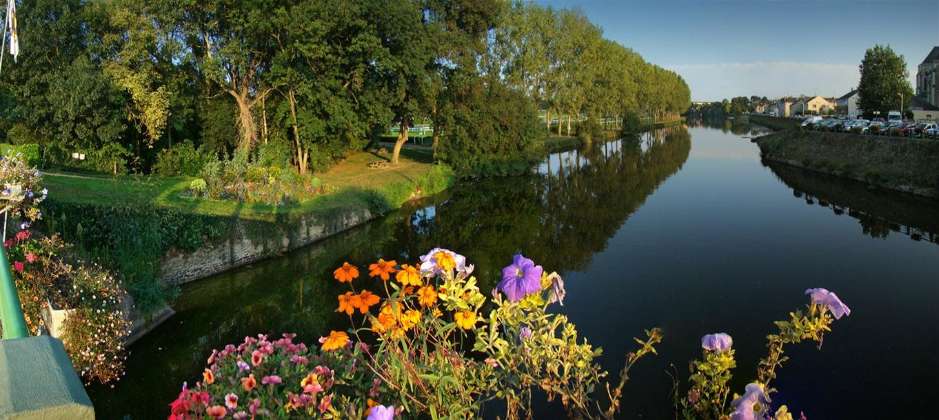 La résidence Jules Vernes situé à Le Lion-d'Angers au Pays de Loire