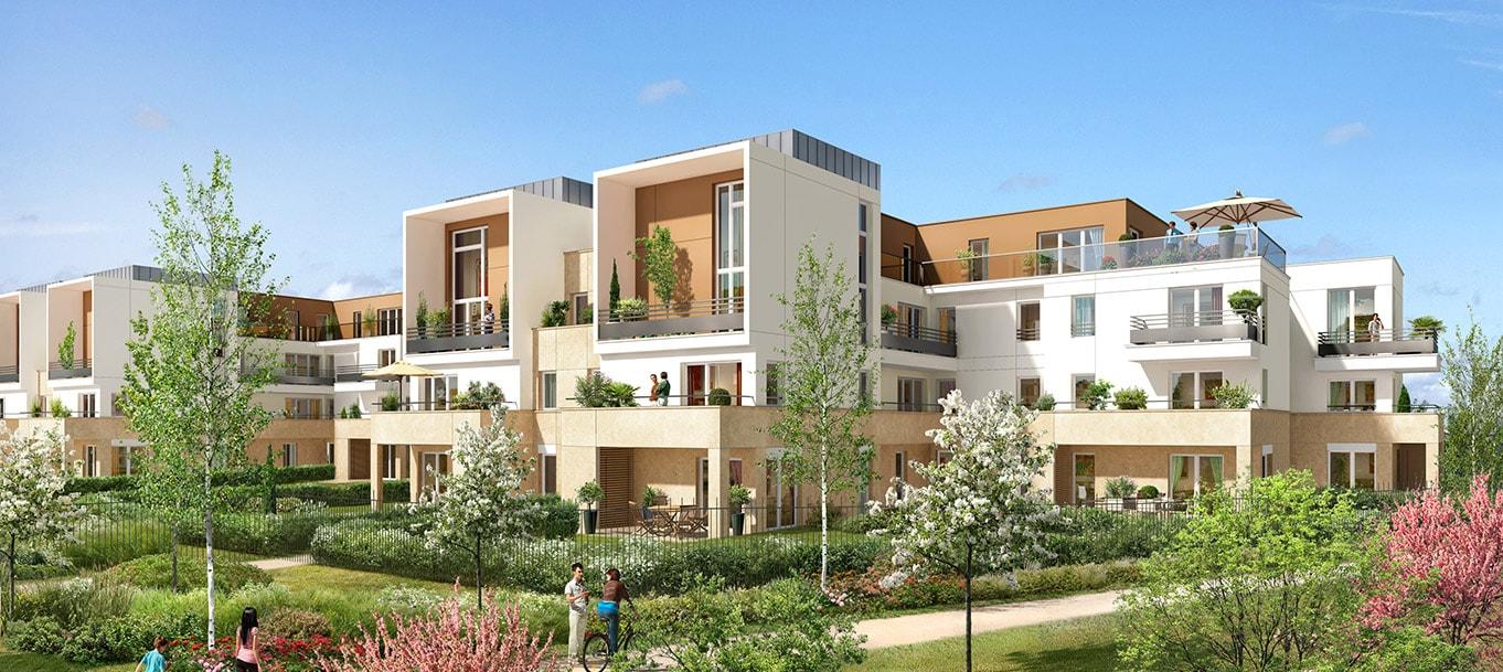 La résidence Harmony Village à Élancourt (Yvelines)