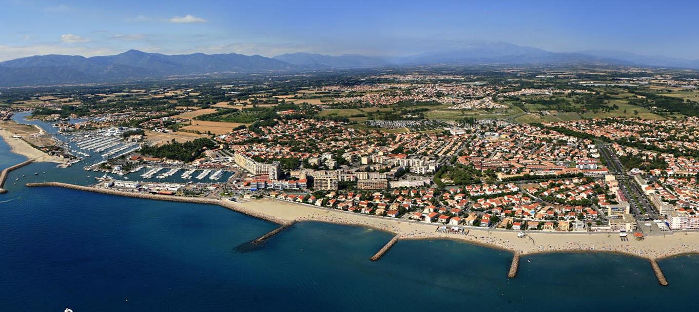 La résidence Les terrasses de Lucie situé à Saint Cyprien dans le Languedoc-Roussillon