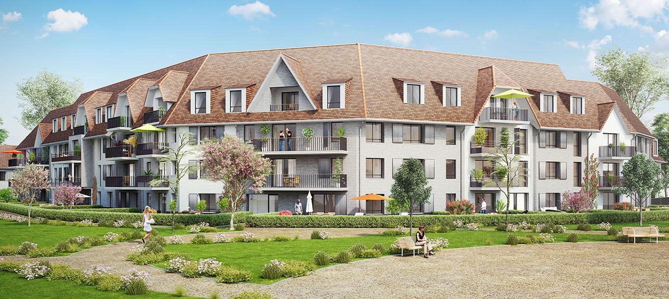 La résidence Nova Luna situé à Wattignies dans le Nord-Pas-de-Calais
