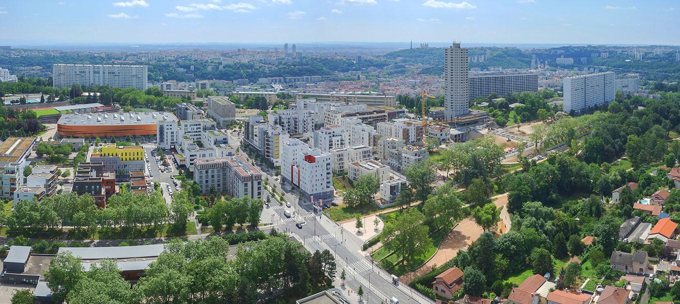 La résidence  Technikolor situé à Lyon en Rhône-Alpes