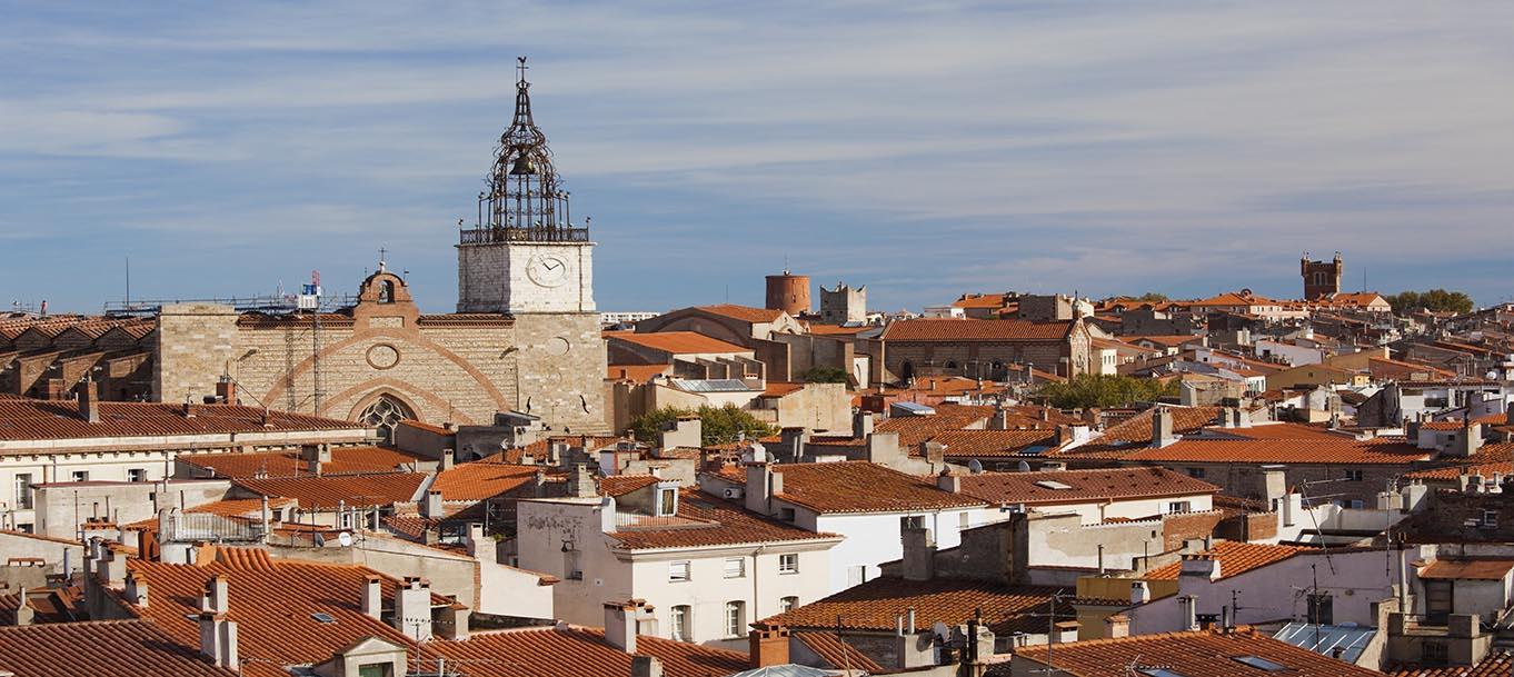 La résidence Léo situé à Toulouges dans le Languedoc Rousillon