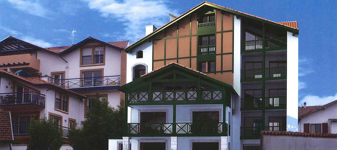 Découvrez la résidence Argiduna à Hendaye (Pyrénées-Atlantiques)