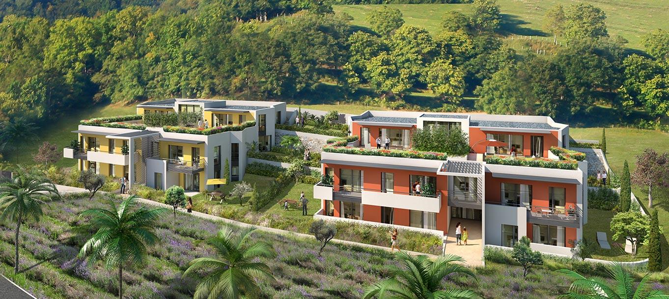 Découvrez la résidence des Terrasses du Soleil à Cagnes-sur-Mer (Alpes-Maritimes)