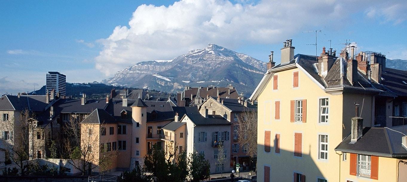 La résidence Le Link situé à Chambéry en Rhône Alpes
