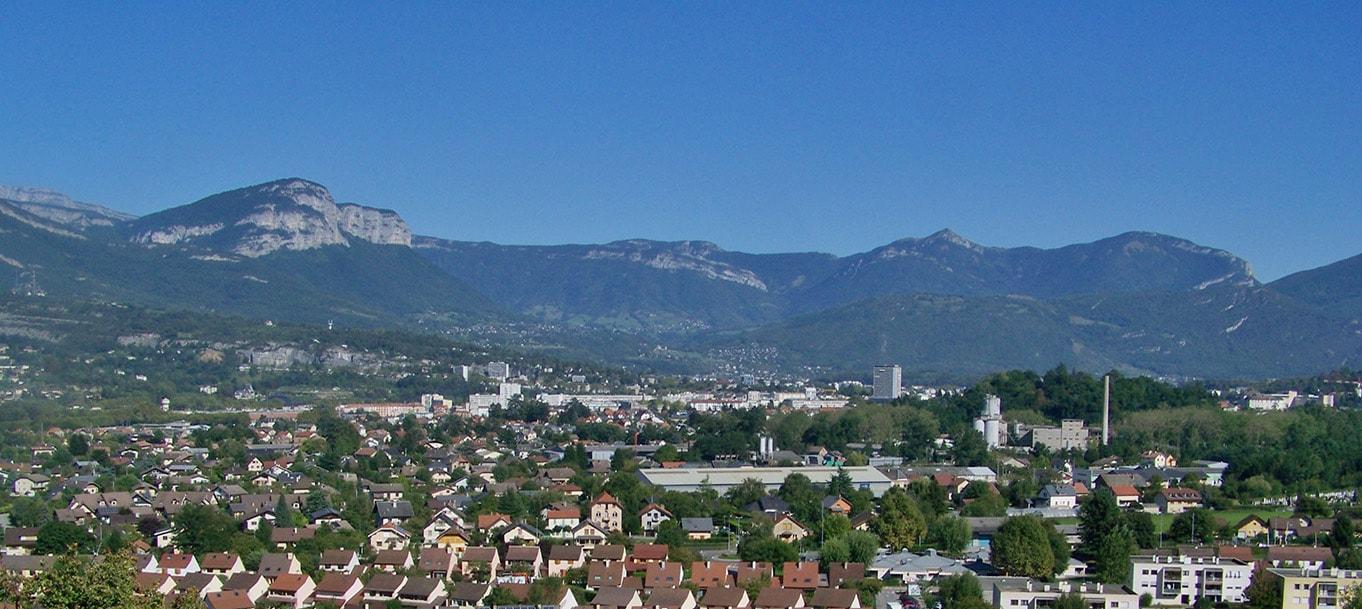 La résidence L'onyx situé à Cognin en Rhône Alpes