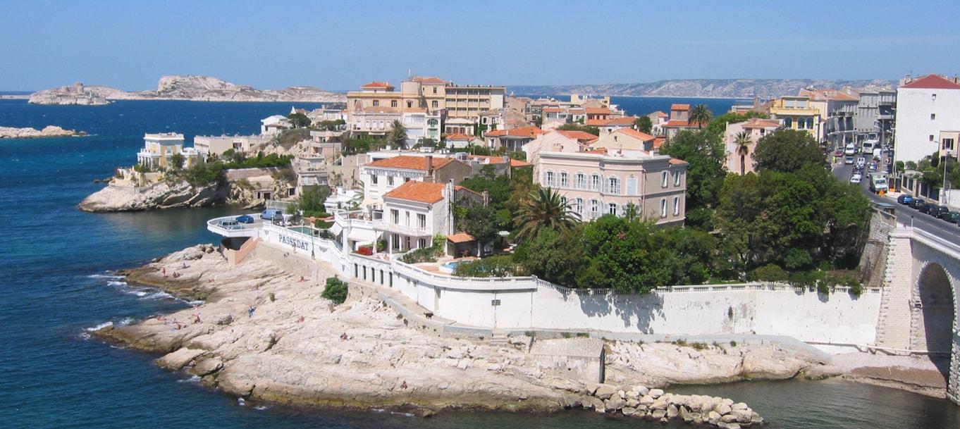 La résidence Senac De Meilhan située à Marseille en Provence Alpes Côte d'Azur
